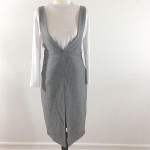 Dresses & Skirts - Wool Blend Gray Jumper Dress